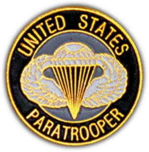 US Paratrooper Small Hat Pin