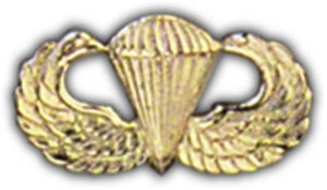 Paratrooper Mini Hat Pin