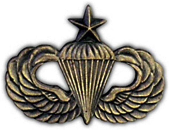 Senior Paratrooper Small Hat Pin