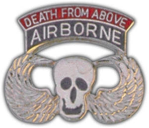Death From Above Small Hat Pin