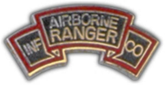 A-B Rangers Small Hat Pin