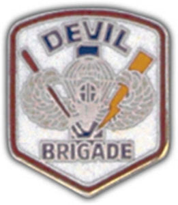 Devil Brigade Small Hat Pin
