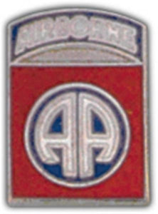 82nd A-B Division Small Hat Pin