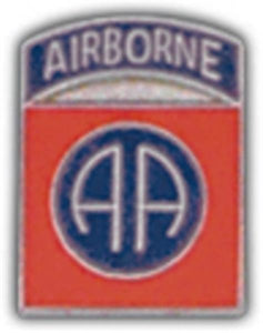 82nd A-B Division Mini Hat Pin