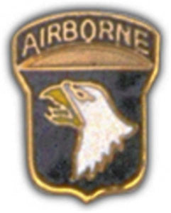 101st A-B Small Hat Pin