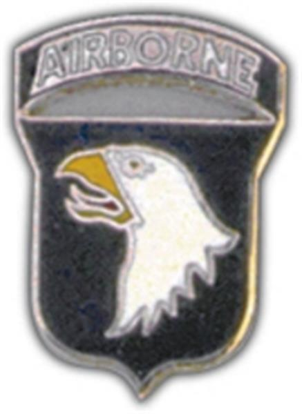 101st A-B Division Small Hat Pin