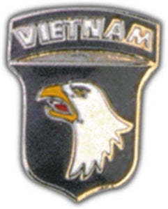101st A-B Vietnam Small Hat Pin