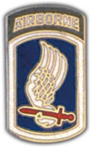 173rd A-B Small Hat Pin