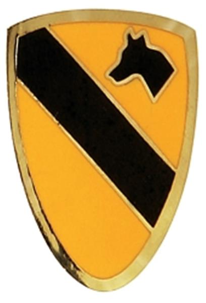 1st Cavalry Division Small Hat Pin