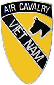 1st Air Cavalry VN Small Hat Pin