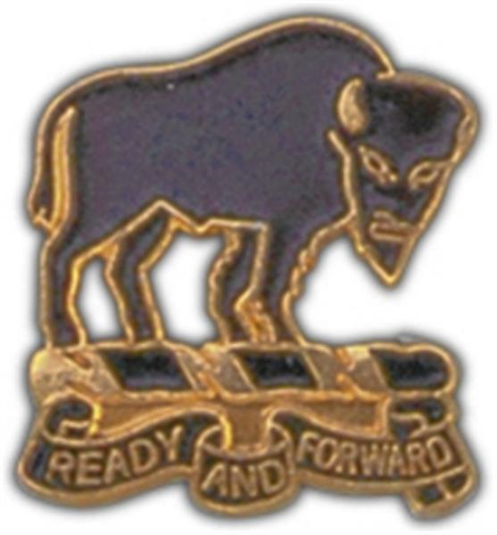 10th Cavalry RGT Small Hat Pin