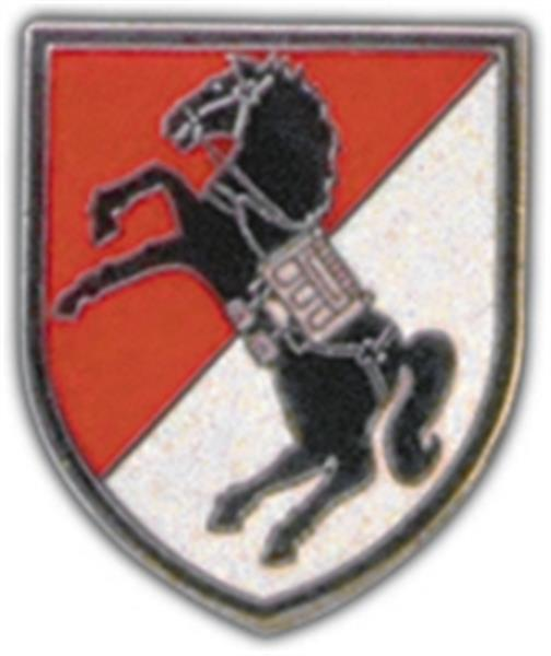 11th ACR (Armored Cavalry Regiment) Support Small Hat Pin