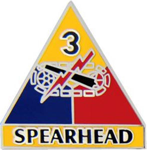 3rd Armored Division Small Hat Pin