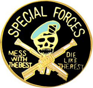 Special Forces Small Hat Pin