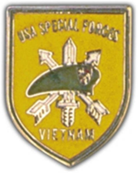 Special Forces Vietnam Small Hat Pin