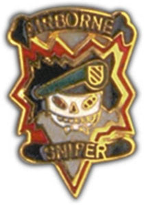 MAC V SOG Sniper Small Hat Pin