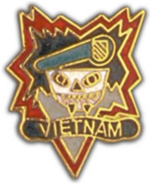 MAC V SOG Vietnam Small Hat Pin