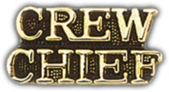CREW CHIEF Small Hat Pin