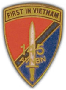 145th AVN BN Small Hat Pin