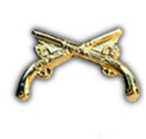 MP Crossed Pistols Small Hat Pin