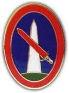 Mil Dist DC Small Hat Pin