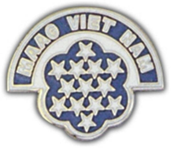 MAAG Vietnam Small Hat Pin
