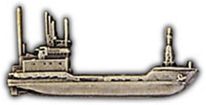 Landing Craft Utility Small Hat Pin