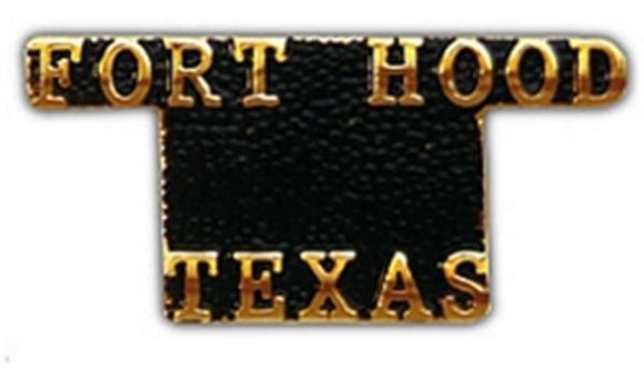 Fort Hood Small Hat Pin