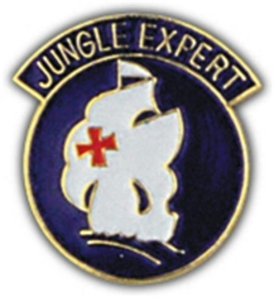 Jungle Expert Small Hat Pin