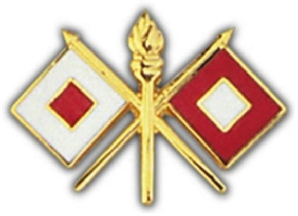 Signal Corps Small Hat Pin