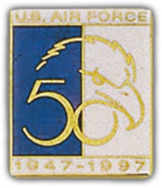 USAF Anniversary 50th 1947-1997 Small Pin