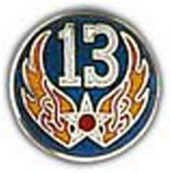 13th Air Force Small Pin