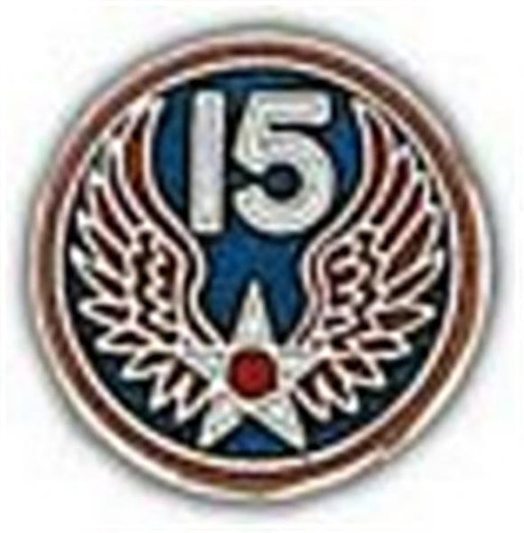 15th Air Force Small Pin