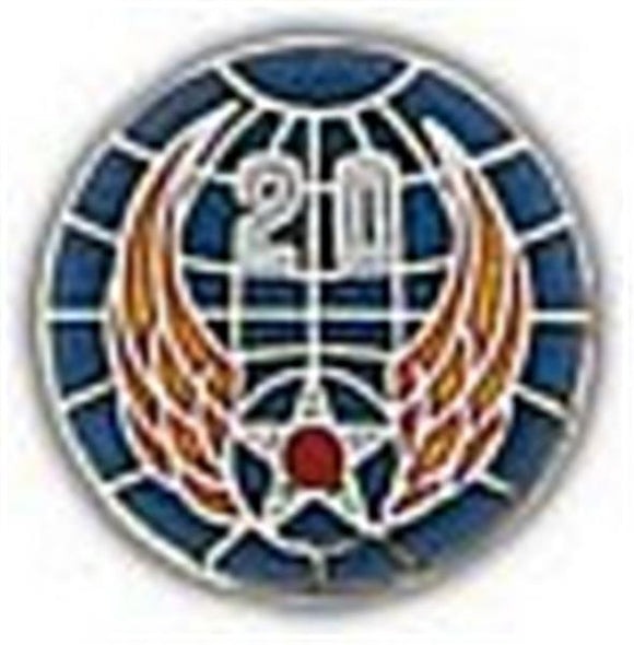 20th Air Force Small Pin