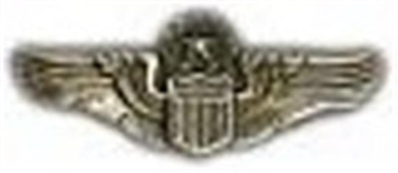 Command Pilot Wings Small Pin
