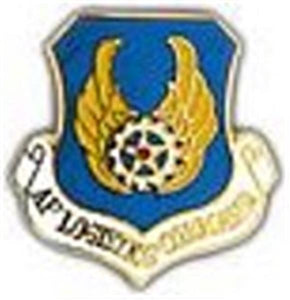 Air Force Log Command Small Pin
