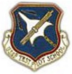 Test Pilot School Small Pin