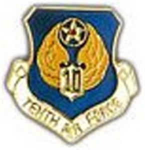 10th Air Force Small Pin