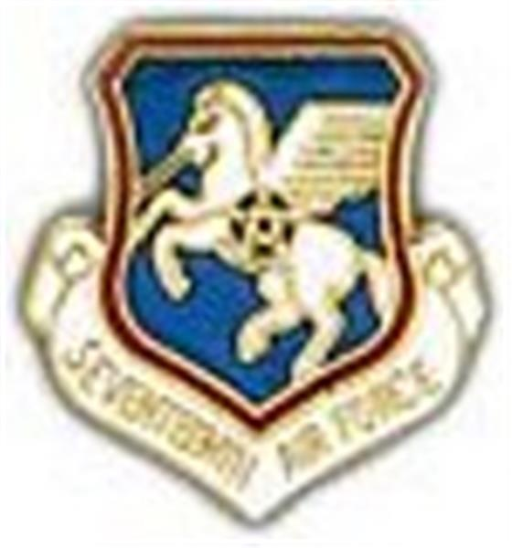 17th Air Force Small Pin