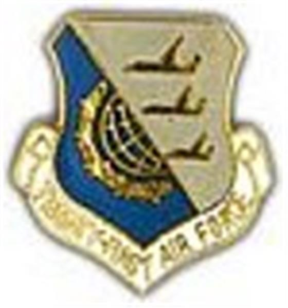 21st Air Force Small Pin