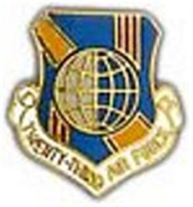 23rd Air Force Small Pin