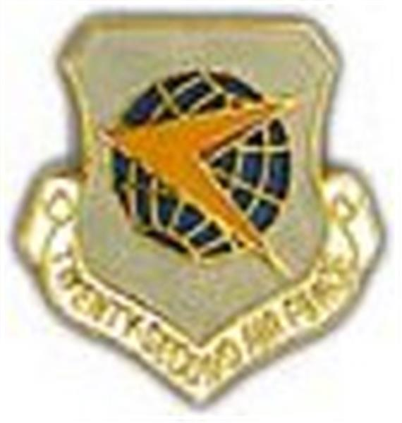 22nd Air Force Small Pin