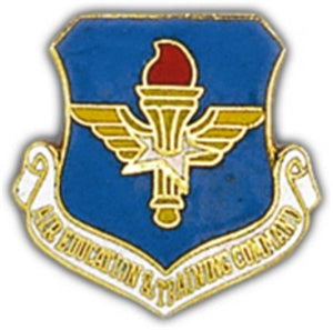AF Air Ed & Training Small Pin