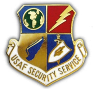 USAF Security Service Small Pin