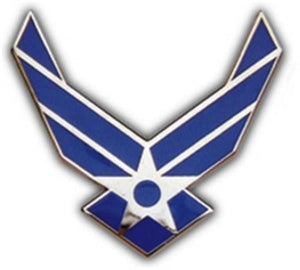 Air Force Logo Small Pin