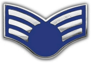 USAF E-4 Rank Small Pin