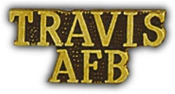 TRAVIS AFB Small PIn