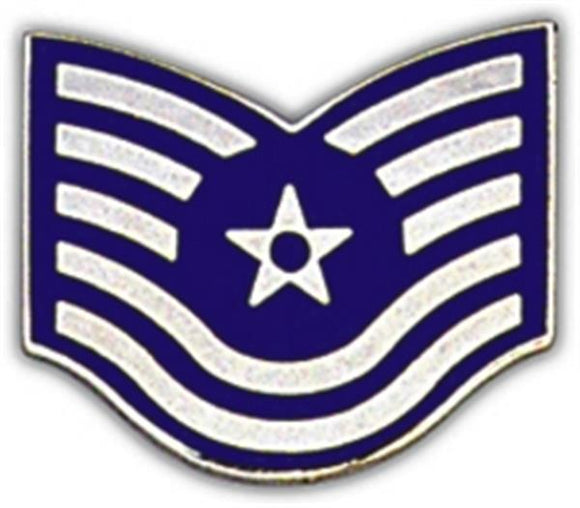 Air Force E-6 Rank Small Pin