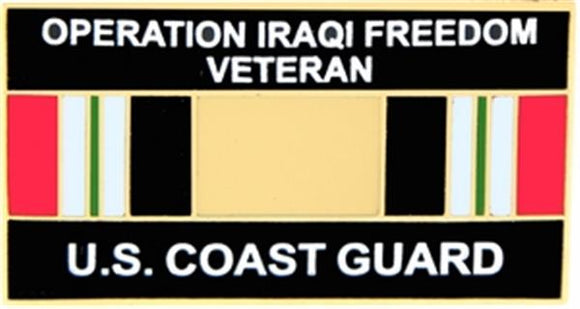 USCG Operation Iraqi Freedom Small Pin