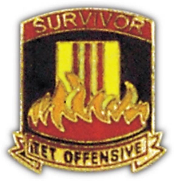 Survivor Tet Small Pin
